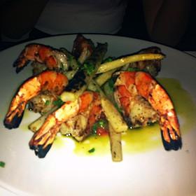 Grilled Seafood - Blu Ristorante, Toronto, ON
