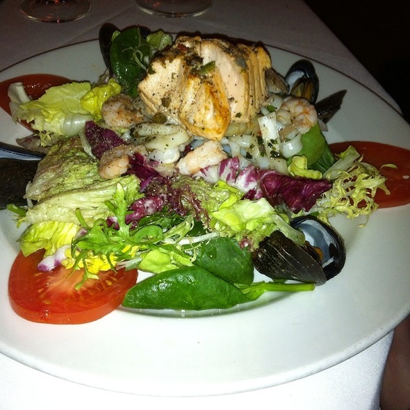 Warm Seafood Medley Salad - Sea Catch, Washington, DC