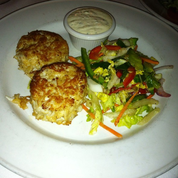 Crab Cakes With Slaw - Sea Catch, Washington, DC
