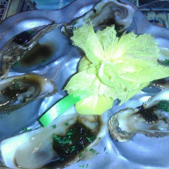 Oysters @ Bertrand's Bistro