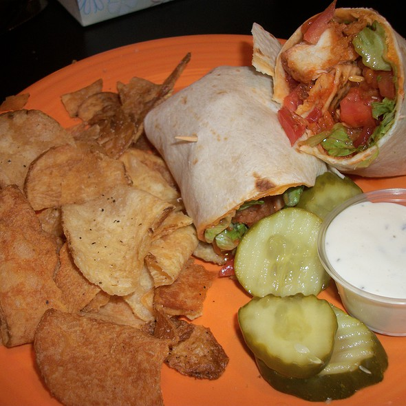 Buffalo Chicken Wrap @ Coakleys Restaurant and Irish Pub