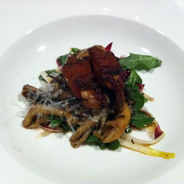 Warm Mushroom and Quail Salad @ Josef's Table