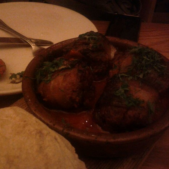Bacon-wrapped, Chorizo-stuffed Medjool Dates @ Avec Restaurant