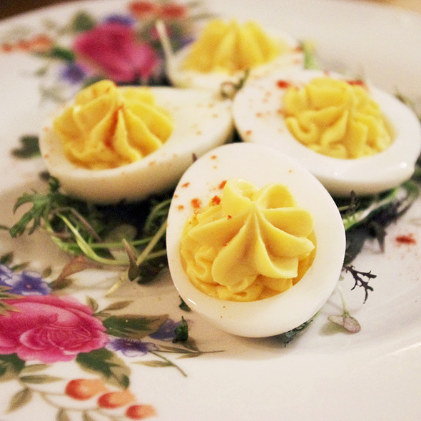 Deviled Eggs @ The Gabardine