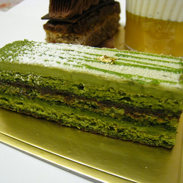 Green Tea Opera @ Patisserie Tony Wong