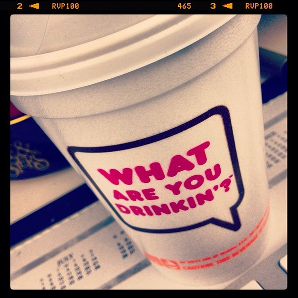 Medium Coffee @ Dunkin Donuts