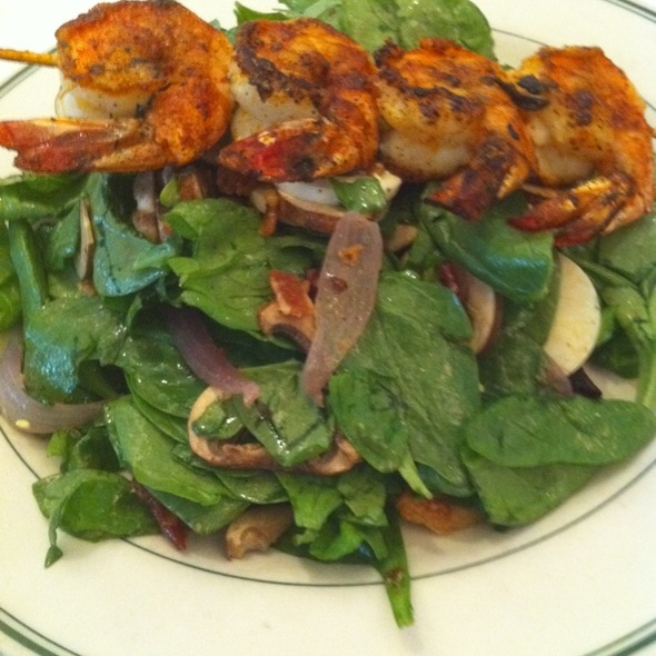 Spinach Salad - The Grill on the Alley - Aventura, Aventura, FL