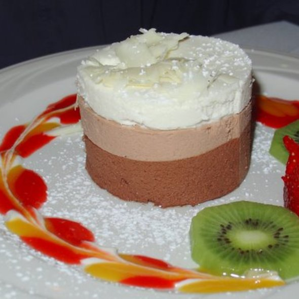 Chocolate And Coffee Mousse At Patio Espanol Restaurant