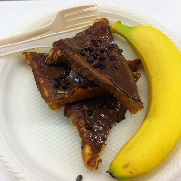 French Toast, Nutella And Chocolate Chips @ Facebook Food Cart
