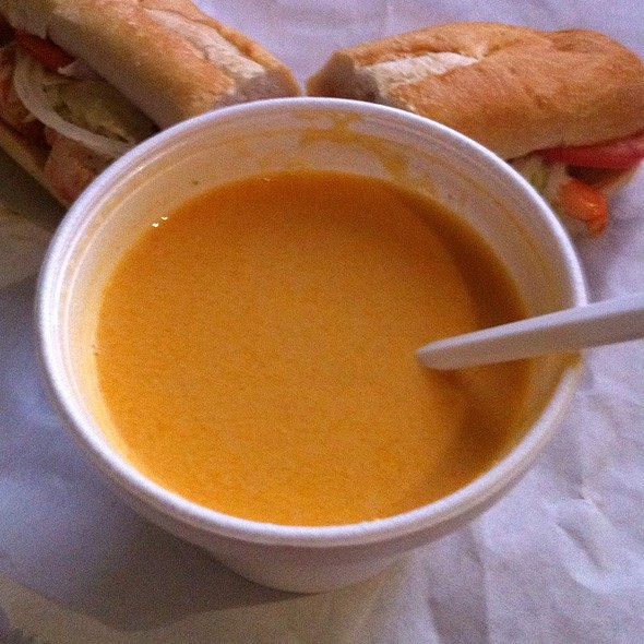 Lobster Bisque @ Blues City Deli