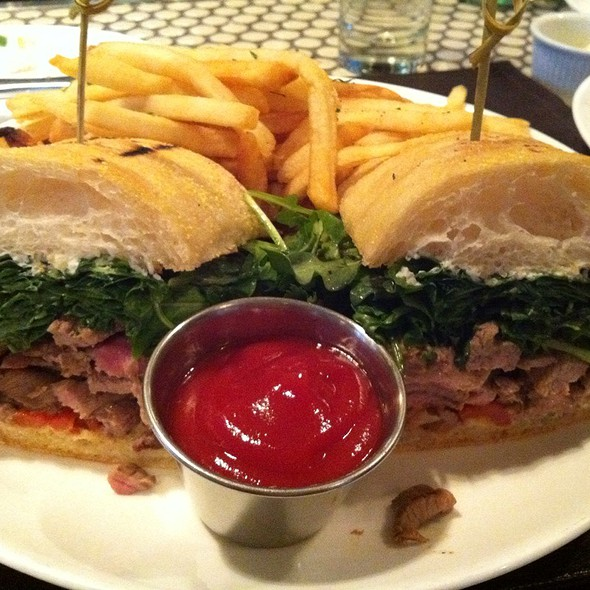 Lamb Sandwich @ Madison & Vine