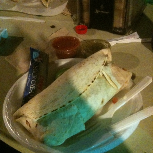 Conchita Pibil Burrito @ Taco Bus