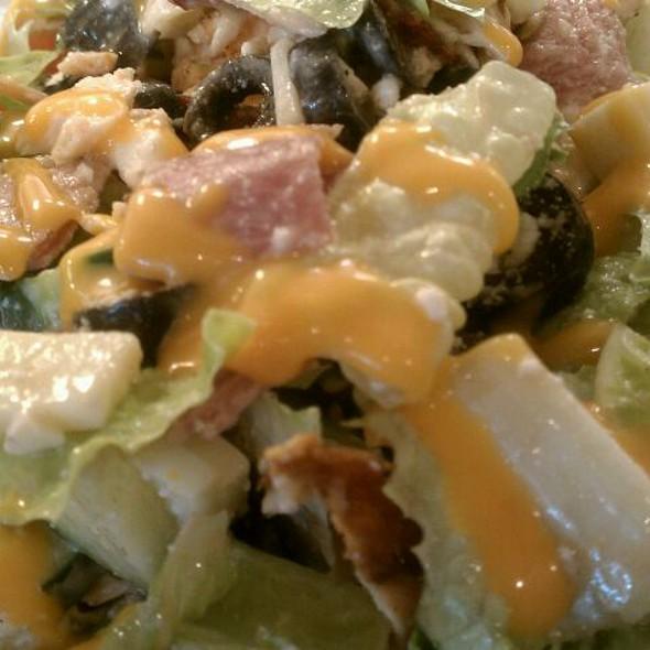 Salmon salad @ Famous Pronto Pizza