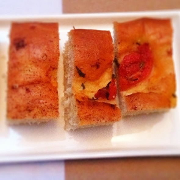 Complimentary Housemade Foccacia - Tavern Off The Green, Litchfield, CT