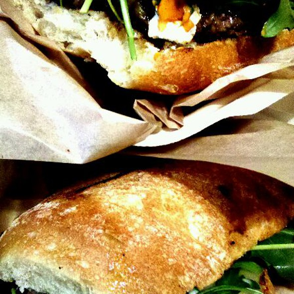 Lamburger and Yellowtail Tuna Melt @ MIHO Gastrotruck