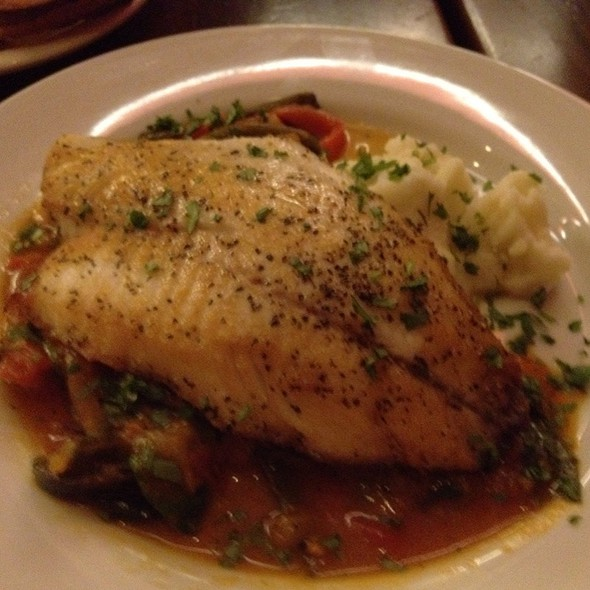 Pan Roasted Tilapia With Vegetable Escabeche @ Noche Vinings