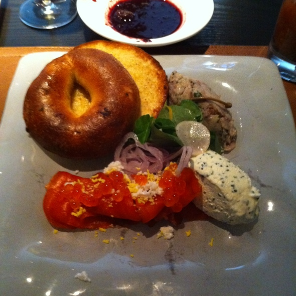House-Cured Coho Salmon and Rillettes of Smoked Bluefish @ Craigie On Main