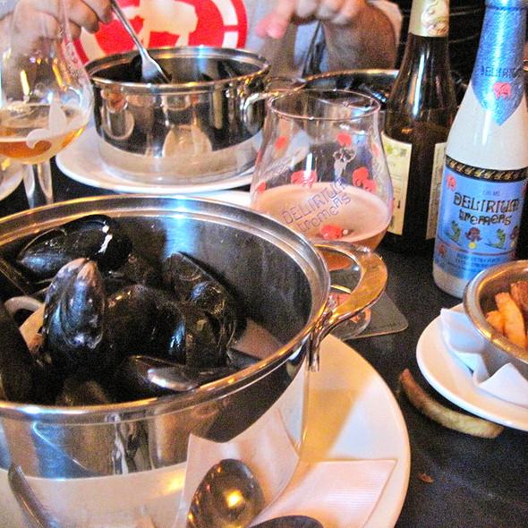 Curry Mussels @ Bières Et Compagnie