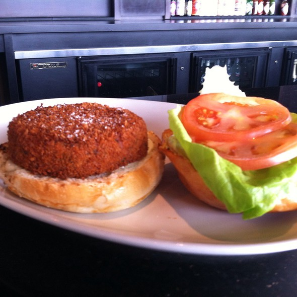 Fish Burger @ PORT dining room-bar-patio