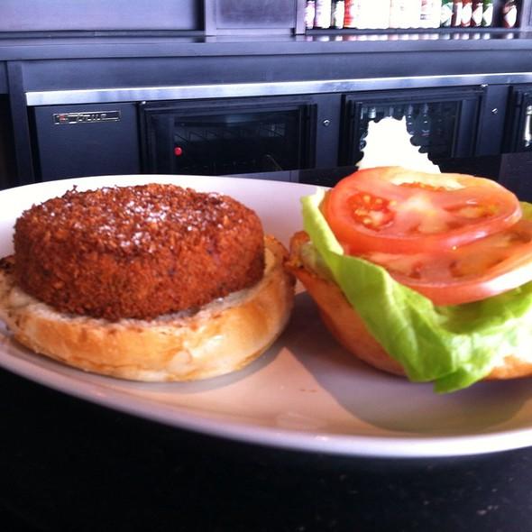 Fish Burger @ PORT dining room-bar-patio