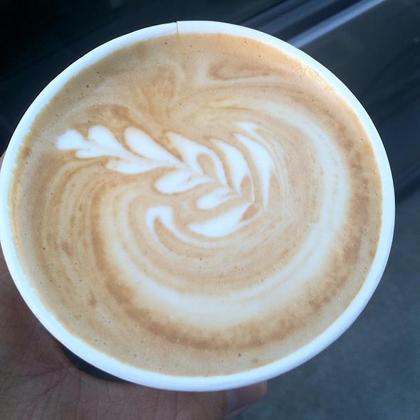 Soy Latte @ Blue Bottle Coffee Kiosk