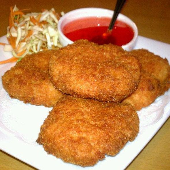 Shrimp cake @ Red Corner Asia Restaurant