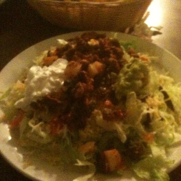 Ranchero Salad Con El Pastor @ Taco Ranchero