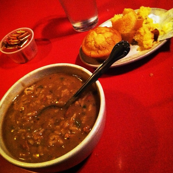 Gumbo Special @ Hard Knox Cafe