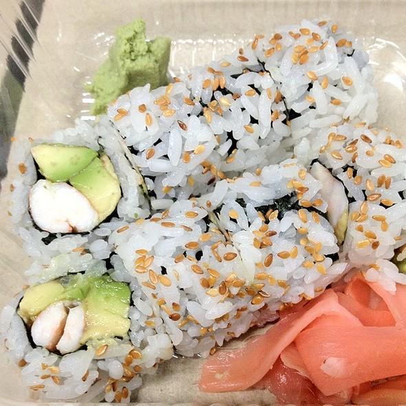 Shrimp And Avocado Roll @ Derek Chang's Koto Sushi Bar