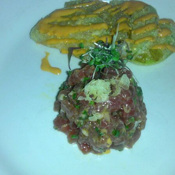 Ahi Tuna Tartare @ Town Hall Restaurant