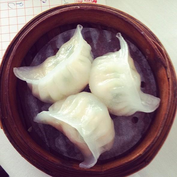 Prawn And Leek Dumplings @ Yum Cha Robina