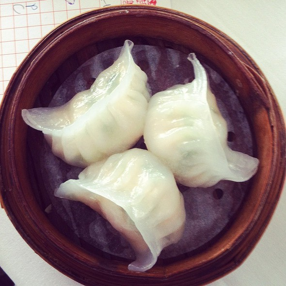 Prawn And Leek Dumplings @ Yum Cha Robina