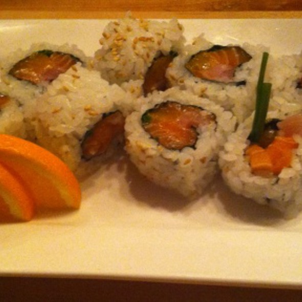 Mork and Mindy Roll @ Hapa Sushi Grill