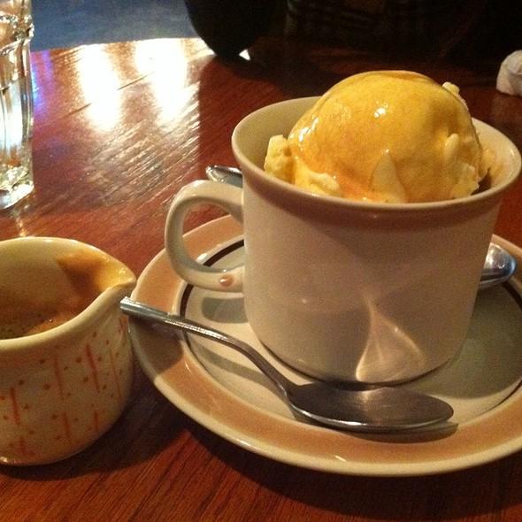 Affogato Al Caffe @ Cafe de l'Orangerie