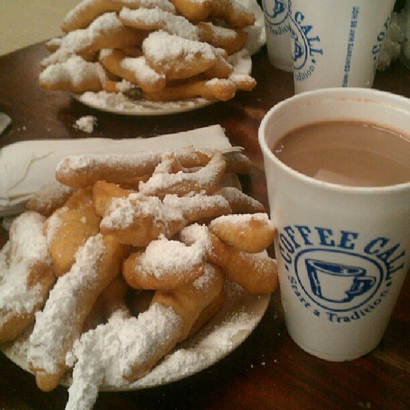 Beignets and Cafe Au Lait @ Coffee Call