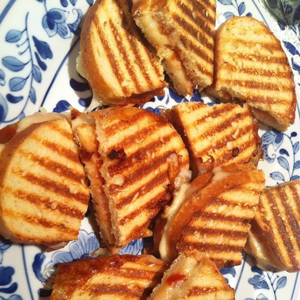 Cheese Chili Tomato Relish Panini @ Bingo's Bistro