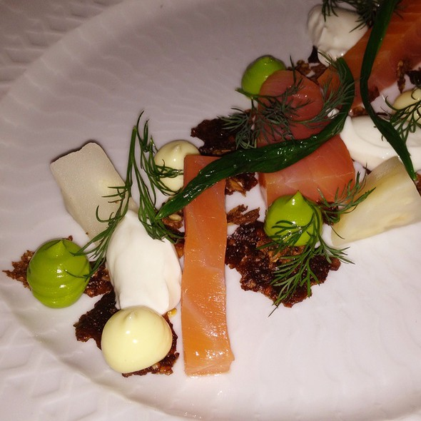 Smoked Salmon With Soft Celeriac & Crisp Apple