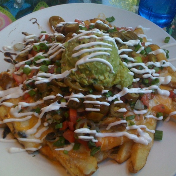 Nacho Fries @ Saturn Cafe