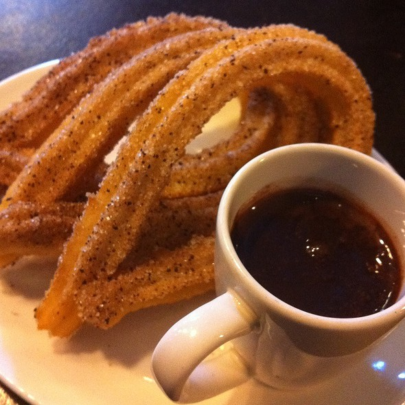 Churros con Chocolate @ Xoco