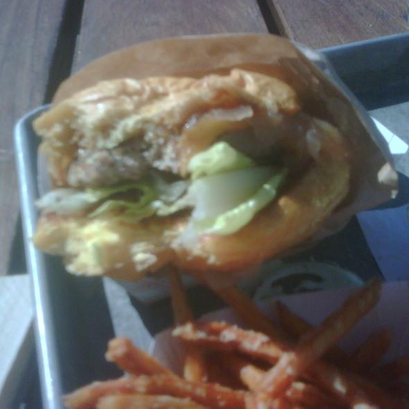 Turkey Burger And Fries @ Gott's Roadside