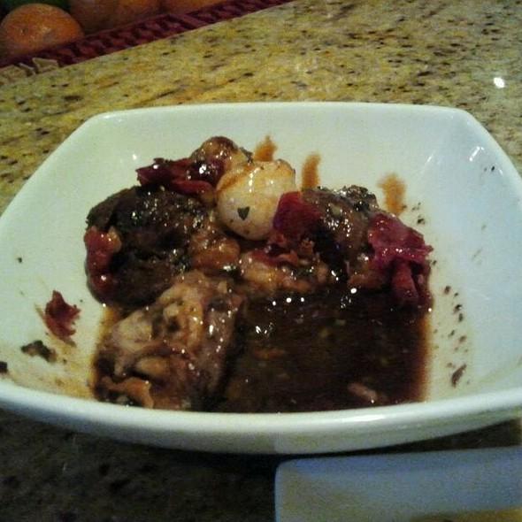Braised Pork Cheeks @ Tapas Adela Restaurant