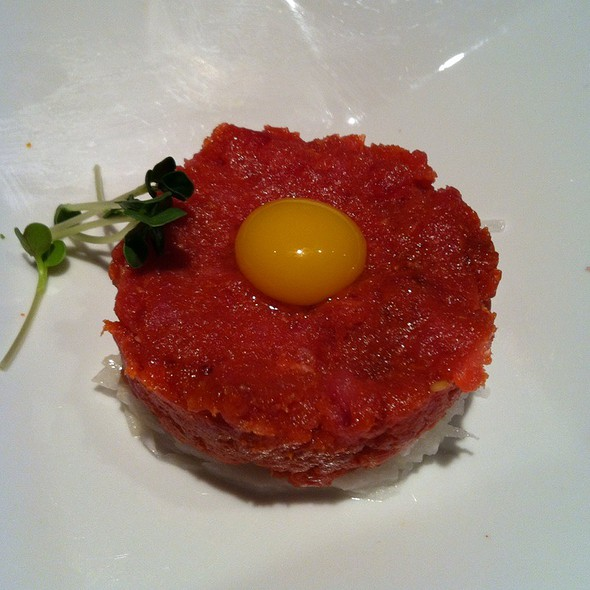 Spicy Tuna Tartare @ Iroha Japanese Restaurant
