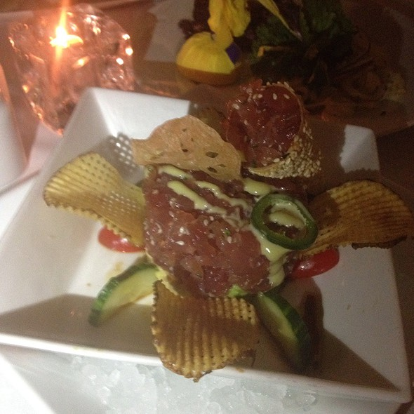 Spicy Tuna Tartare - Harbour Sixty, Toronto, ON