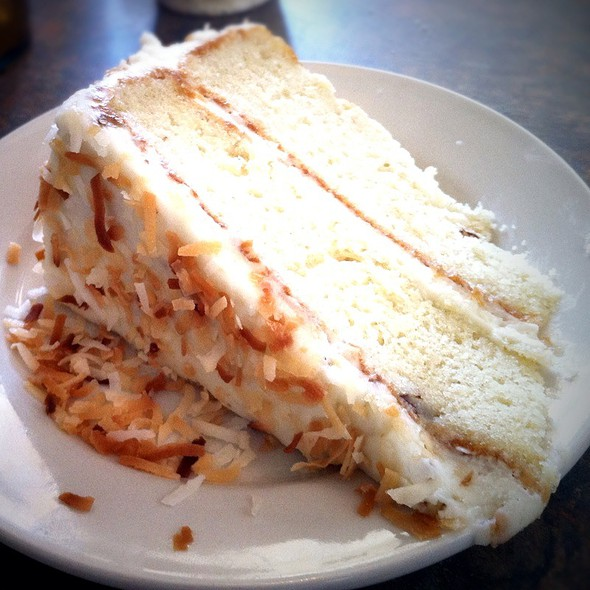 Italian Cream Cake @ A Taste of Italy Siciliano's