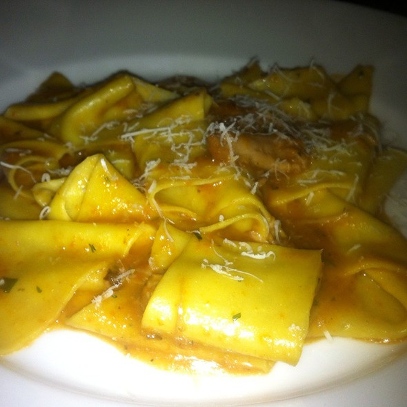 Pork Sugo with Pappardelle @ Pizzeria Delfina