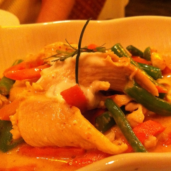 Panang Curry Chicken @ Summit Thai Cuisine