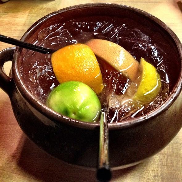 Fruit Margarita Bowl @ Las Casuelas Restaurant