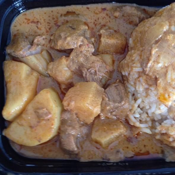 Lamb Massaman Curry @ Phat Thai