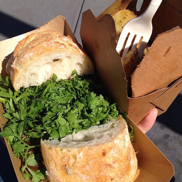 Porcheta Sandwich @ Roli Roti at the Ferry Building Farmer's Market