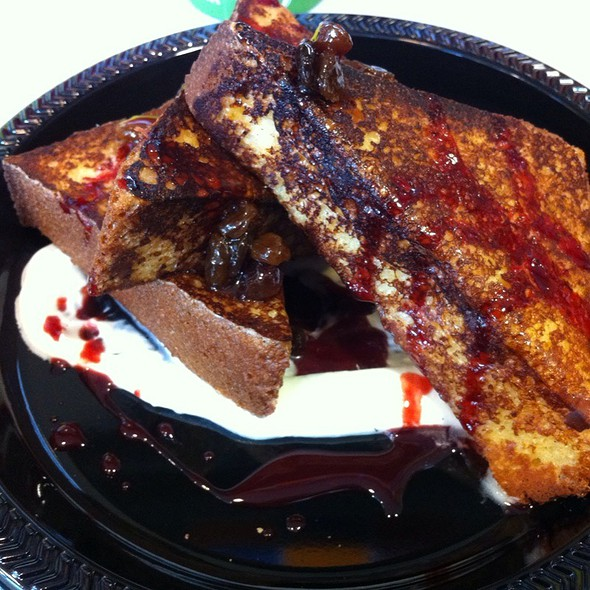 French Toast @ cia bakery cafe